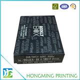 Cadre de empaquetage ridé par noir mat pliable de finissage