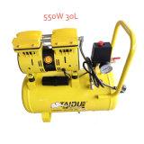 compressor dental silencioso livre da bomba de ar do petróleo de 550W 30L