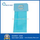 Azul polvo de papel del bolso de filtro para el aspirador