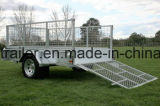 De gegalvaniseerde Aanhangwagen van het Nut ATV met Helling