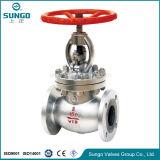 Diseño válvula de globo sello de presión