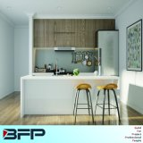 ヨーロッパの贅沢な台所家具の積層物の食器棚