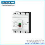 Corta-circuito moldeado 4poles del caso de Askm1-800A con la certificación del Ce