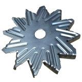 Peça de metal da folha da precisão do suporte Star-Shaped