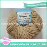 Tessile di lavoro a maglia all'ingrosso robusta a buon mercato eccellente della sfera del filato di lana della moquette