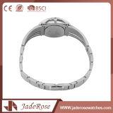 男女兼用のミネラルガラス方法スポーツのステンレス鋼の腕時計