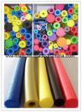 Kundenspezifisches preiswertes farbiges EPE Schaumgummi-Gefäß, EPE Schaumgummi-Rohrleitung, EPE Rod