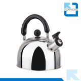 Caldaia calda dell'acqua della cucina della caldaia di fischio dell'acciaio inossidabile di vendita 1/2/3/4L