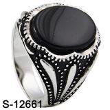 Hoog Zilver 925 van de Ring van de Juwelen van het Ontwerp van het Eind