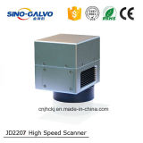 電話箱のファイバーレーザーのマーキング機械のためのJd2207スキャンの検流計