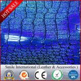 оптовая продажа затыловки хлопка ткани искусственной кожи PVC 0.5mm-1.0mm имитационная