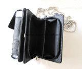 Повелительница Карточка Бумажник PU Deco бумажника мобильного телефона Th-P6003 кристаллический