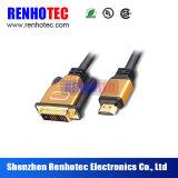 Prise électrique de connecteur femelle de HDMI DVI
