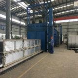 Houtkorrel Trsanfer Aluminium profiel voor de deur van de deur