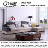 Sofá secional do projeto moderno com tela de linho da alta qualidade para a mobília da sala de visitas - Fb1102