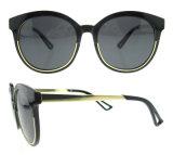 Óculos de sol de moda Designer Handmade Women Gafas de sol com lente polarizada
