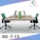 Sitio de trabajo moderno de la oficina del escritorio del ordenador de los muebles