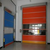 Porte rapide bon marché d'obturateur de rouleau de qualité de PVC (HF-142)