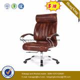 Стул офиса босса кожаный стула Brown роскошный (Hx-A8047)