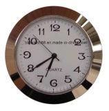 Pequeña pieza inserta 50m m del reloj del cuarzo de encargo