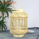 Modo variopinto unico con la maniglia delle lanterne di bambù