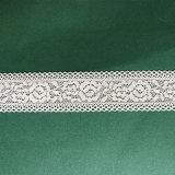 Merletto di tintura fresco della guarnizione del Crochet