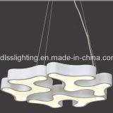 Iluminação creativa do pendente do metal da venda quente para a decoração da sala de visitas