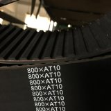 De goede Industriële Synchrone Riem van de Prijs met Type At10-500 560 610 660
