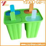 ホーム(YB-AB-019)のためのカスタム多彩なシリコーンのアイスクリームのアイスキャンデー型