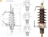 Buje competitivo del transformador de 12kv/24kv/36kv 1000A/2000A/3150A
