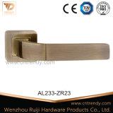 Maneta palanca de aluminio de la puerta del cinc más nuevo de los muebles en el escudo (AL238-ZR23)