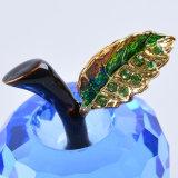 Pisapapeles tamaño pequeño de Apple del vidrio cristalino del color de 40m m
