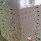 Панель стены сандвича PU цвета строительного материала Китая белая для доски холодной комнаты