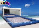 corte di pallavolo gonfiabile del PVC di spessore di 0.9mm per la spiaggia