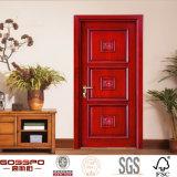 Porte en bois intérieure de pièce d'artisan simple de lame de fournisseur de la Chine (GSP2-010)