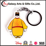 Promotion Custom Printed Clear 3D Pokemon Acrylic Keychain