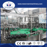 帽子を離れたねじれのガラスビンのための中国の高品質の飲料の生産ライン