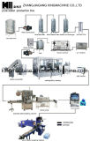 Terminar la cadena de producción del agua mineral