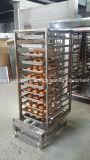 Forno da conveção de 12 bandejas para o pão