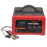 Chargeur de batterie permutable de 2/6/10 ampère 12V/6V
