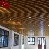 Azulejos de aluminio fonoabsorbentes al por mayor del techo del bafle de la venta directa de la fábrica