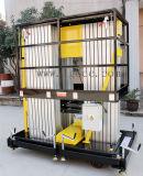 plataforma de trabajo aéreo hidráulica de aluminio 12meters (GTWY12-300SB)