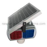 أربعة الجانبين المرور الشمسية ضوء تحذير / LED ضوء وامض