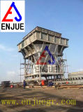 배출 먼지 장치 30 Cbm 자동차 호퍼를 가진 운반 시멘트 호퍼