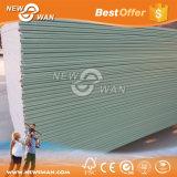 Feuchtigkeitsbeständige/Wasser-Beweis-Gips-Vorstand-Fasergipsplatte-Trockenmauer