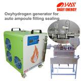 Machine en verre de joint hermétique de remplissage de bouteilles d'ampoule de consommation d'essence de Hho d'équipement médical