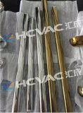 Vacío de la maneta PVD del bloqueo de puerta del acero inoxidable que metaliza la máquina, equipo del laminado del ion del oro del estaño