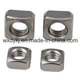 Usine de noix carrée de la vis 304 DIN 557 d'acier inoxydable de la Chine