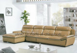 Nuovo sofà bianco moderno italiano del cuoio del salone di colore (HX-F605)