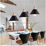 Lampe pendante en aluminium simple moderne pour la salle à manger